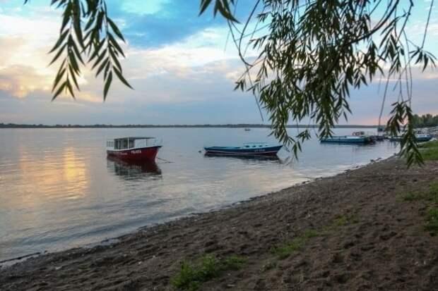 Баржа протаранила яхту на Волге в Саратовской области