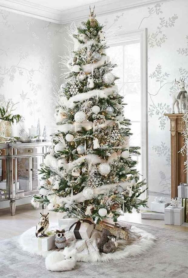 Как украсить елку: привычные классические варианты и оригинальные альтернативы (70 фото)