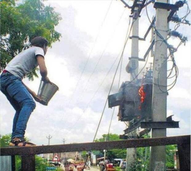 Техника безопасности - это для слабаков!!!