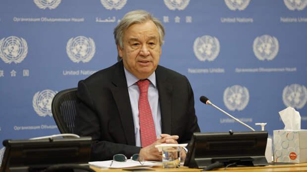 Гутерреш надеется на совместную работу ООН и России в поддержании мира