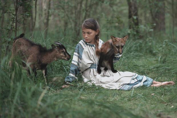 Фотограф Ольга Баранцева. Фотосессии с дикими животными и творческие портреты 23