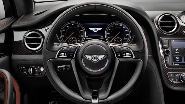 Компания Bentley решила обновить седан Flying Spur