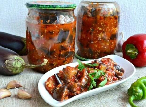 Острый салат на зиму Манжо. Подавать в качестве закуски к любым рыбным и мясным блюдам 2