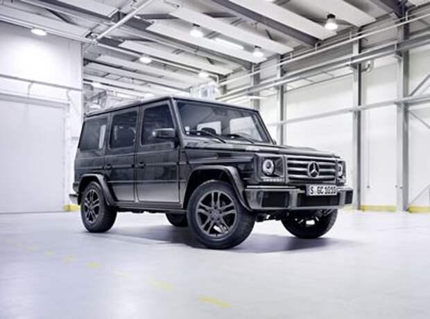 Новый Mercedes-Benz G-класса: подробности