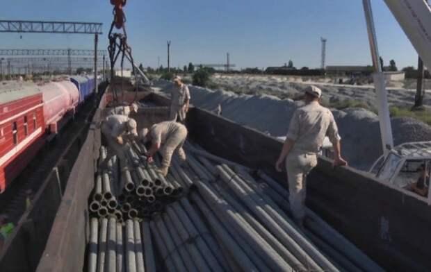 Из Белогорска в Симферополь начали тянуть водопровод