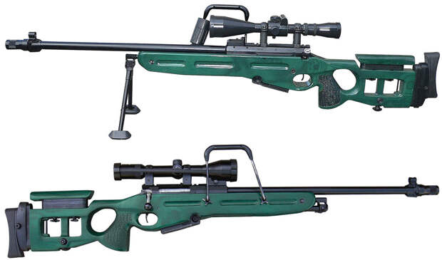 СВ-98 – винтовка для снайперов-профессионалов