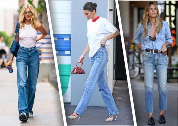 Какие джинсы будут в моде в 2021 и следующем году
