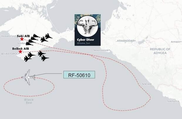 В России отработали авианалет на американский эсминец