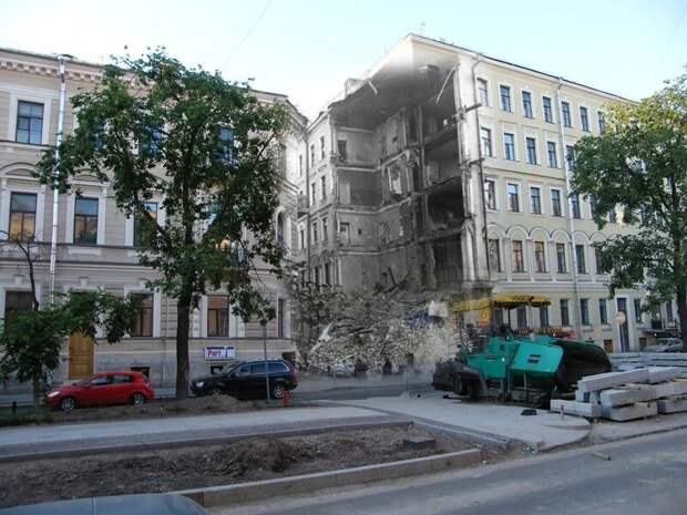 Ленинград 1942-2009 Фурштатская улица12 блокада, ленинград, победа