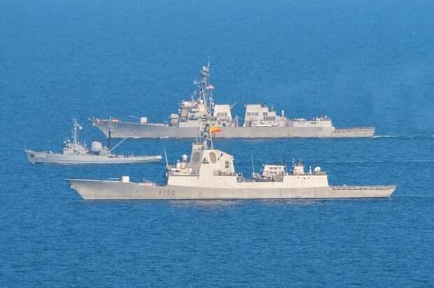 Сайт Sohu: в будущем корабли НАТО могут угодить в ловушку России в Азовском море