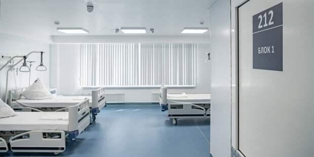 Собянин осмотрел строящийся лечебно-диагностический комплекс ИКБ №1. Фото: М. Мишин mos.ru