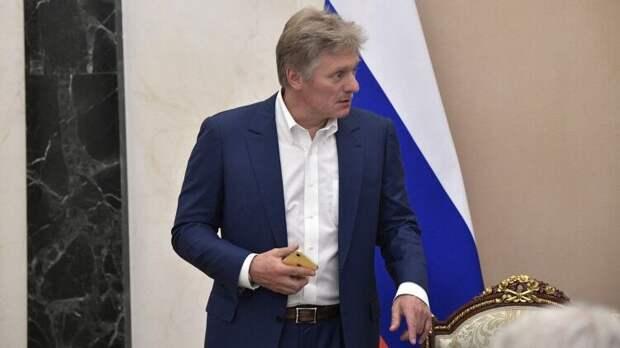 Песков оценил влияние новых санкций США на встречу Путина и Байдена