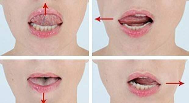 интероральный массаж рта