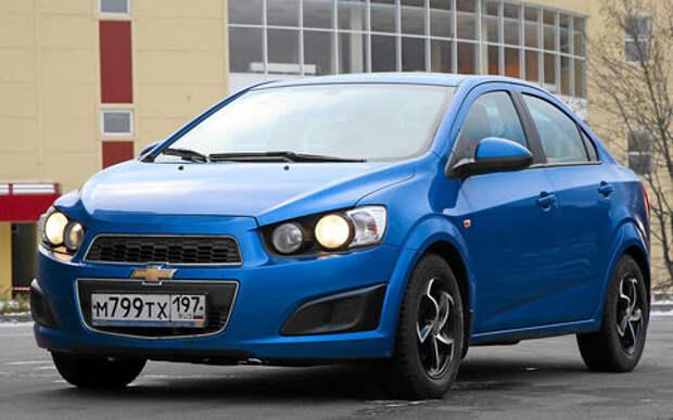 Chevrolet Aveo из парка ЗР: цена ошибки