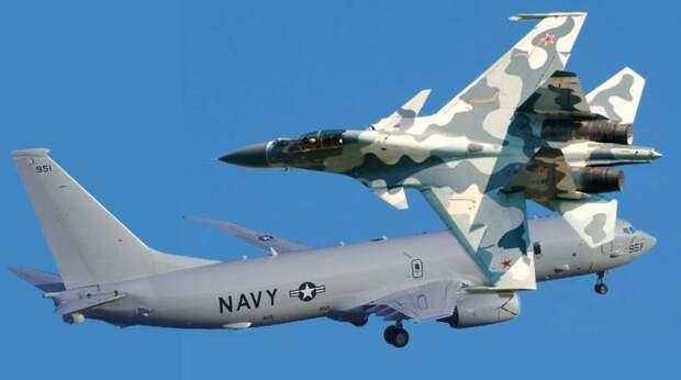 ВМС США показали видео самого опасного маневра российского Су-35