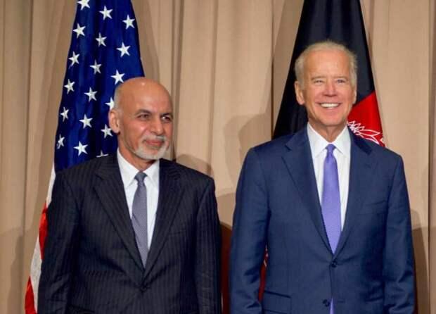 Байден и Гани заявили, что наступление талибов* противоречит их заявлениям о мире