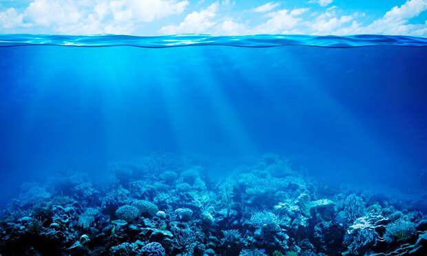 В океане найдены следы вещества внеземного происхождения