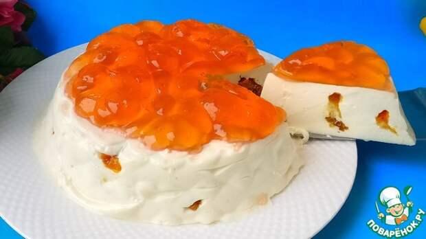 Торт без сахара, выпечки из творога