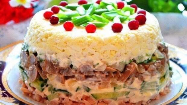 """Вкуснейший салат """"Праздничный"""""""