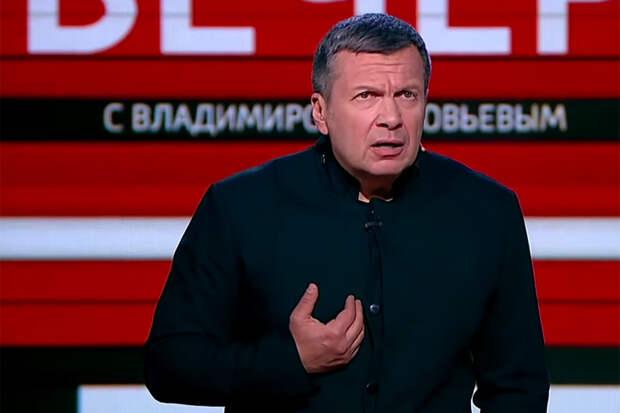 """""""В стране, где проходят нацистские марши"""", – Соловьёв раскритиковал Чулпан Хаматову, которая получила вид на жительство в Латвии"""