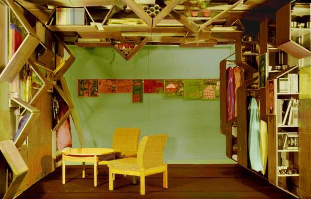 Попытка уйти от однообразия советских интерьеров. /Фото: designstory.ru
