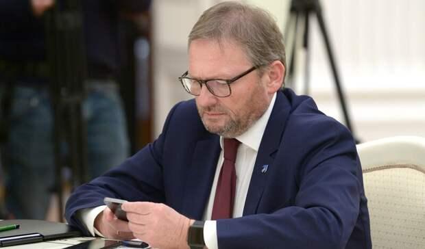 Борис Титов вдискуссии сМихаилом Мишустиным оправдал жадные корпорации