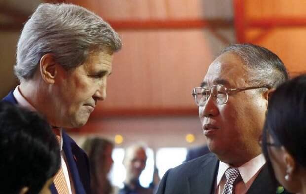 США иКитай приняли совместное заявление поклимату