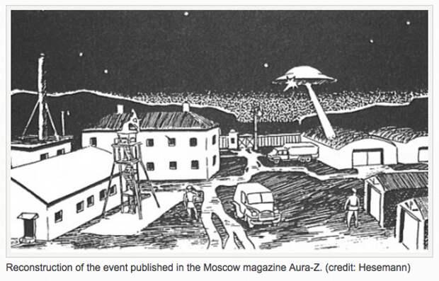 Легенды об НЛО и КГБ