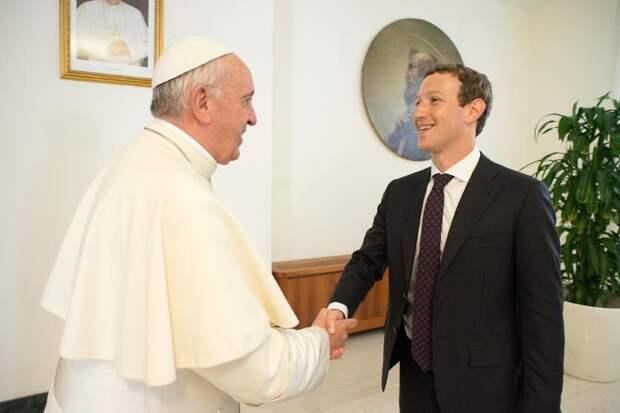Папа Франциск и знаменитости