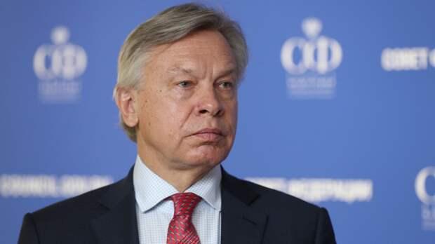 """Пушков констатировал """"смерть мозга"""" НАТО после слов Столтенберга о России"""