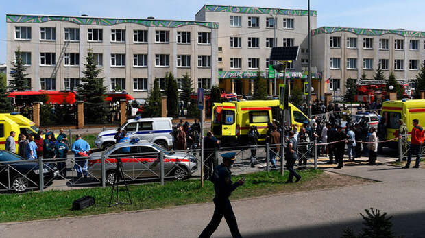 Девять человек погибли в Казани при стрельбе в школе