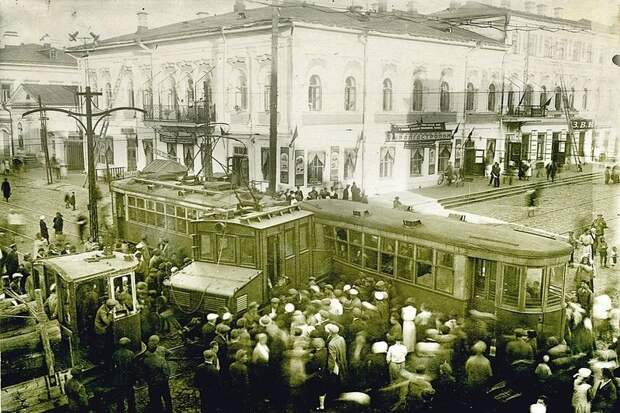 Пермь, 1941. Грузовой трамвай врезался в пассажирский. СССР, аварии 18+, трагедии