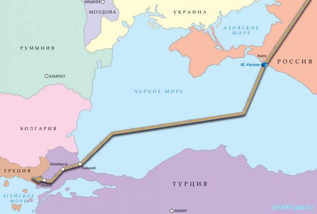 Турция профинансирует половину своей части газопровода «Турецкий поток»