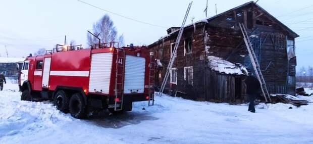 В Лесосибирске задержали чиновника после гибели четверых детей в пожаре