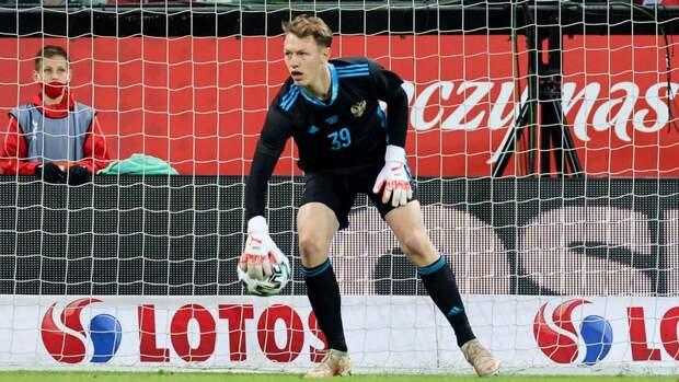 Сафонов будет защищать ворота сборной России в матче с финнами