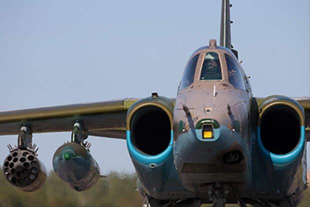 Грузия сняла с вооружения штурмовики Су-25