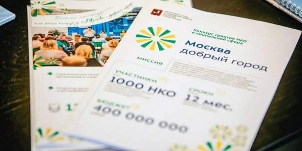 Более 300 НКО соцсферы подали заявки на гранты правительства Москвы. Фото: Департамент труда и социальной защиты населения города Москвы. mos.ru