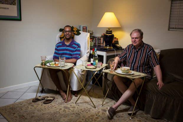 Как проходит ужин в семьях обычных американцев