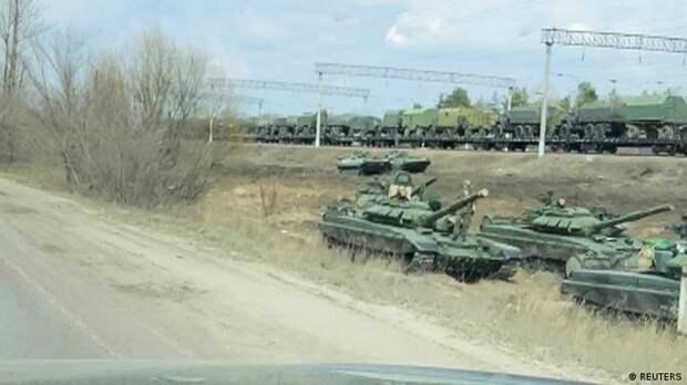 Российская военная техника в Воронежской области, 6 апреля