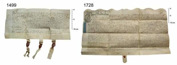 Такие пергаменты было сложнее подделать