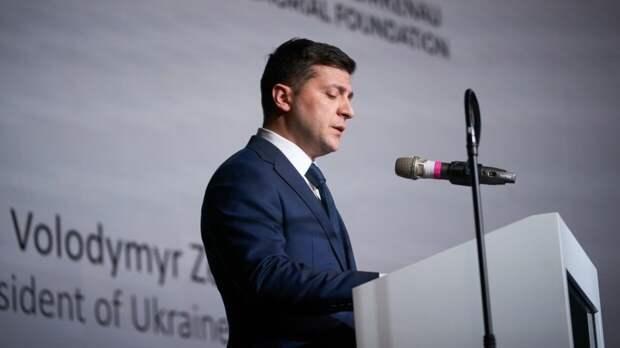 Зеленский поздравил украинцев с Днем Европы