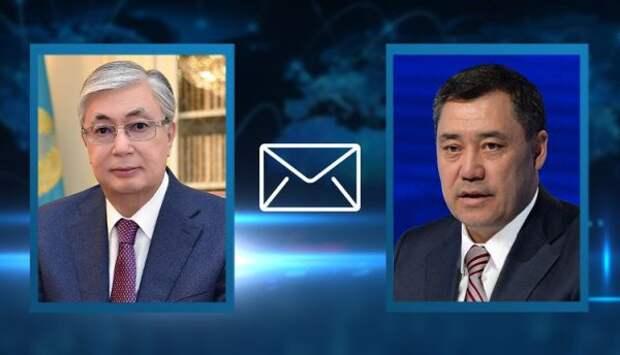 Токаев поздравил Жапарова спринятием новой конституции