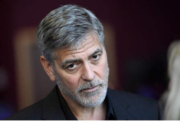 Джорджа Клуни госпитализировали перед съемками фильма