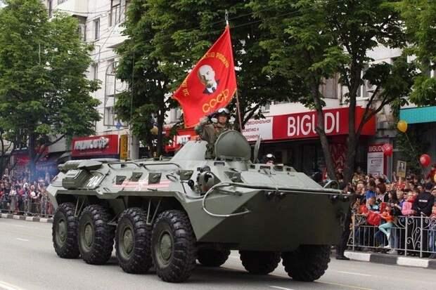 В мае центр Симферополя перекроют для проведения репетиции Парада Победы