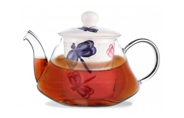 Посуда FISSMAN: заварочный чайник CASABLANCA с керамическим фильтром и крышкой.