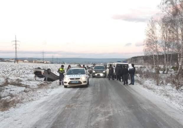 Пассажирка иномарки погибла в результате ДТП в Нижнеудинске