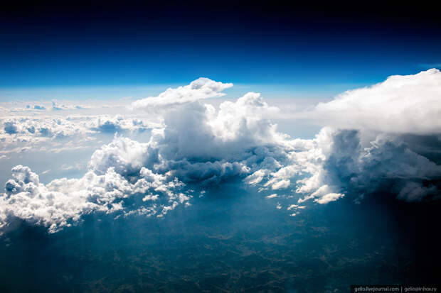 Из окна самолёта — 2017