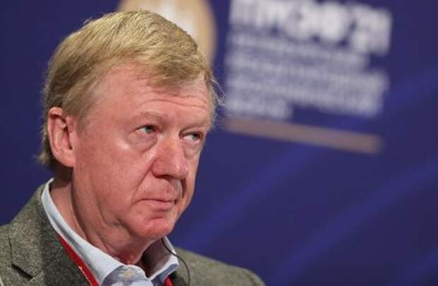Anatoly Chubais, special representative of Russian President for relations with international organizations to achieve sustainable development goals, attends a session of the St. Petersburg International Economic Forum (SPIEF) in Saint Petersburg, Russia, June 3, 2021. REUTERS/Evgenia Novozhenina