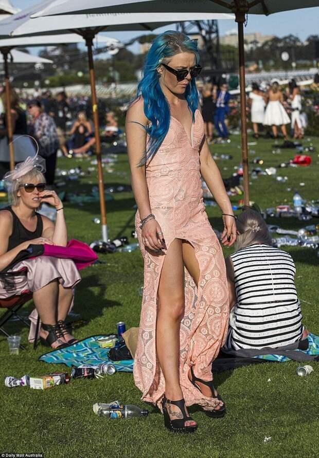 Скачки в Мельбурне: светская мода становится все откровеннее Мельбурн, история, мода, светское общество, скачки