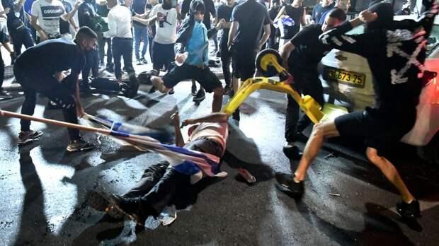 Обострение конфликта с Палестиной спровоцировало беспорядки в Израиле